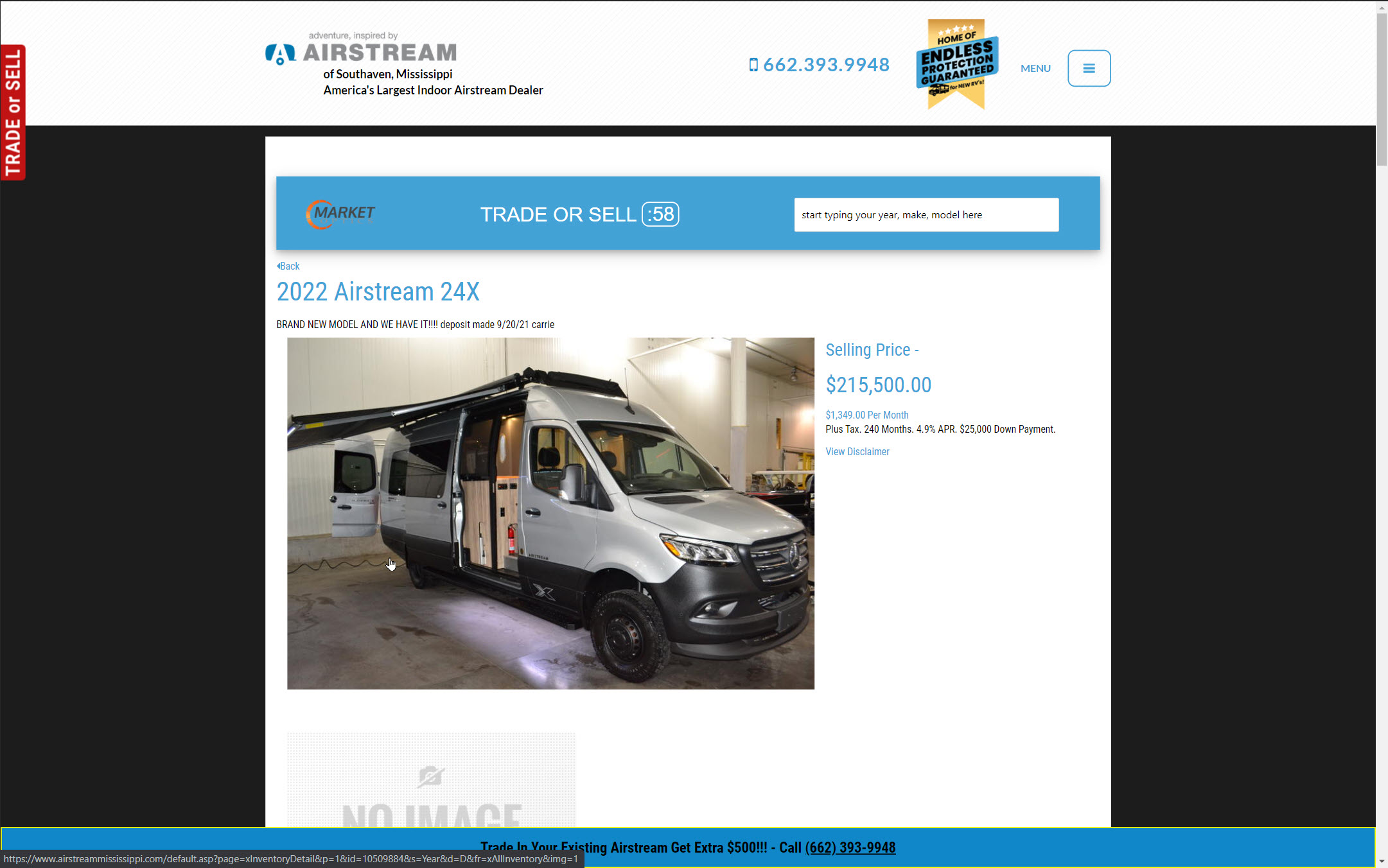 Vehicle Detail Pages